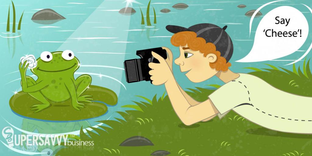Fotomodel Frog