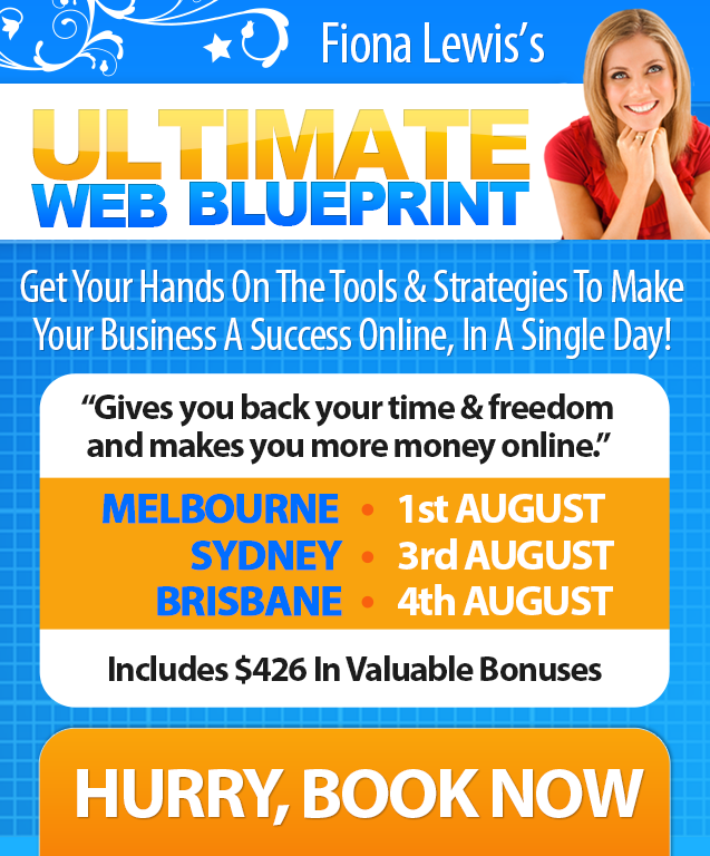 Ultimate Web Blueprint live workshop for online marketing success