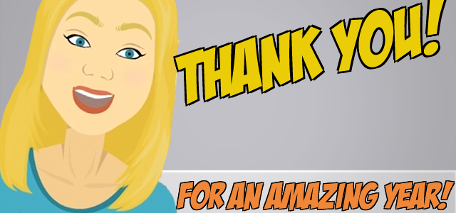 A Big 'Thank You!' & Big Surprises For 2014