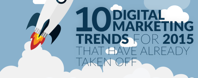 10 Digital Marketing Trends For 2015 That Have Already Taken Off (+ Infographic)