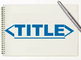 Choosing Key Words For Page Title & Descriptions And Dealing With Exact Match Domains