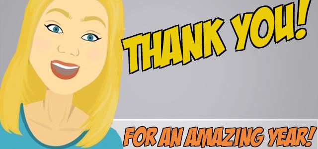 A Big 'Thank You!' & Big Surprises For 2014